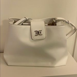 White Handbag Sam Edelman (Shoulder and Crossbody)
